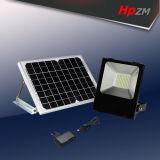 정원 가벼운 태양 투광램프가 LED에 의하여 옥외 태양 LED 점화한다