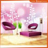 Disegno viola romantico del reticolo dell'albero per la pittura a olio domestica della decorazione