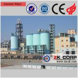 Baixo custo da planta de produção do cimento