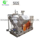 Compressor de pistão do impulsionador da pressão de gás do metano refrigerar de água