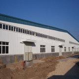 Edificio prefabricado de la estructura de acero para el almacén