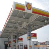 De Afgeworpen Bouw van de Structuur van het metaal Benzinestation voor Verkoop