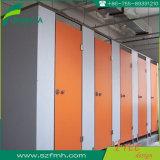 Woodgrain HPL de Raad van de Verdeling van de Verdeling van het Toilet van de Cel