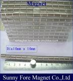 니켈 도금 실린더 자석 Dia6 10mm