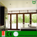 Алюминиевые окно Casement Inswing, Casement Windows удара Hurrican и двери с сертификатом Ce