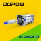 Dopow Scj80X50-25 실린더 압축 공기를 넣은 실린더