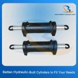 De dubbelwerkende Cilinder van de Leiding van de Olie van de Hydraulische Macht van de Zuiger