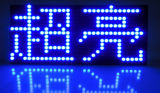 De Vertoning van de Module van het enige Blauwe P10 Scherm van de leiden- Tekst