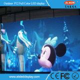 Im Freien P12 BAD örtlich festgelegter LED videowand-Bildschirm für Anschlagtafel