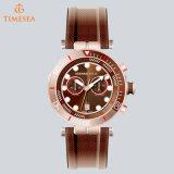 Mens-beiläufiger Armbanduhr-Chronograph-Multifunktionssport kundenspezifisches super leuchtendes Watch72492