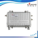 Amplificateur extérieur imperméable à l'eau en aluminium de CATV rf