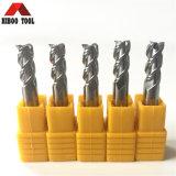 ferramentas de carboneto 3flutes para processar o alumínio