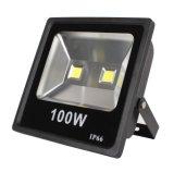 100W IP65 LEDのフラッドライト、AC85-265Vの互換性のあるセリウムRoHS