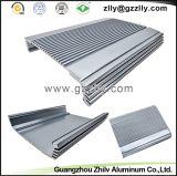 Disipador de calor de aluminio de la protuberancia del material de construcción