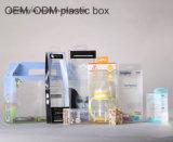 Sac cosmétique de boîte-cadeau en plastique d'OEM avec l'impression fabriquée en Chine