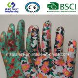 Gant fonctionnant de sûreté de gant de jardin de gant