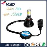 G5 LED beleuchtet 40W 4000lm H1 H7 H8 H11 9006 einzelne Scheinwerfer-Birne des Bohnen-Auto-LED