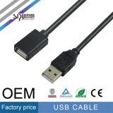 Mâle de câble de norme USB de la vitesse 2.0 de Sipu au mâle