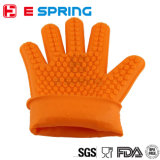 Silikon, das Handschuh-hitzebeständigen Ofen-Handschuh kocht
