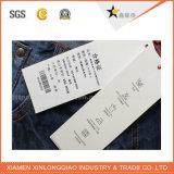 Tag de papel feito sob encomenda do balanço da cor cheia da alta qualidade para a roupa