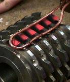 Four de brasage de chaufferette de soudure de machine de chauffage par induction de fréquence