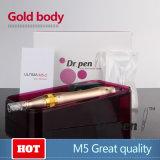 El Dr. antienvejecedor Pen M5 Glod Electric Dermapen de Hight Quility