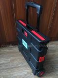 Trole de dobramento plástico vermelho e preto do melhor preço bom da compra
