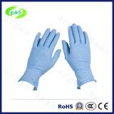 Gants d'examen de latex de gants épurés par nitriles médicaux de santé