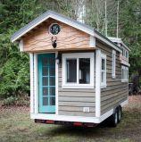 2017의 새로운 모듈방식의 조립 주택, 여행 트레일러를 꾸미는 작은 트레일러 집/, 목제 Prefabricated 집 및 별장 (TH-046)