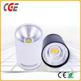 5W 7W COB LED Downlight avec 3 ans de garantie