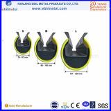 Das Erzeugung sechs des aufrechten Plastikschoners