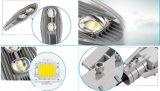 50-150W Lampe extérieure Bridgelux COB Solar LED Street Lighting