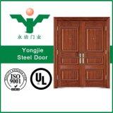 大きい価格の新しいデザインメインゲートの鋼鉄ドア