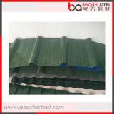 Folha ondulada revestida galvanizada da telhadura do metal da cor em preços baratos