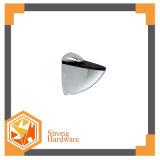 Clip en verre de miroir en alliage de zinc/bride en verre en verre de matériel