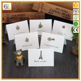 Crear las tarjetas impresas del regalo para requisitos particulares de la Navidad