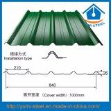 Листы металла стены плакирований крыши цвета Corrugated стальные