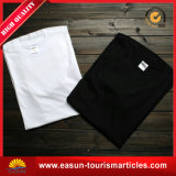 T-shirt longo das senhoras da luva da alta qualidade do algodão do costume 100