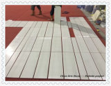 Плитка доломита Bianco белая мраморный для стены и пола