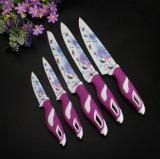 Fruit figé de couteaux de cuisine d'acier inoxydable/utilitaire/chef/découpage en tranches/couteaux de pain