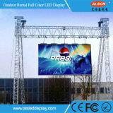 Alquiler a todo color de alta definición P4.81 Pantalla LED para hacer publicidad