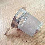 Горячий продавая стрейнер кружки чая нержавеющей стали с ручкой