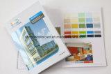 Folheto de registo personalizado do cartão da cor da impressão com o ponto UV