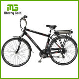 ギヤ7速度のE自転車、後部キャリアが付いている電気バイクとブラシレス36V 250W