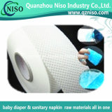 Papier absorbant de sève remplaçable pour les matières premières de serviette hygiénique