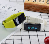 Pulsera de reloj elegante del monitor de la presión arterial del ritmo cardíaco