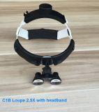 lenti di ingrandimento chiare dentali chirurgiche della fascia LED di funzionamento 3W