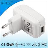 De Lader van de Adapter 6With5V 1A USB van Kptec met van GS en Ce- Certificaat