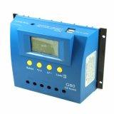 80A 12V/24V 24h-Backlight Sonnenkollektor-Zelle PV-Ladung-Controller G80