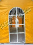 二重層の屋外の使用のための膨脹可能な家のテント